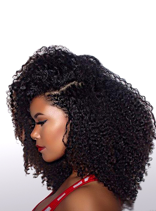 Virgin Hair Kinky Curly Hair Natural