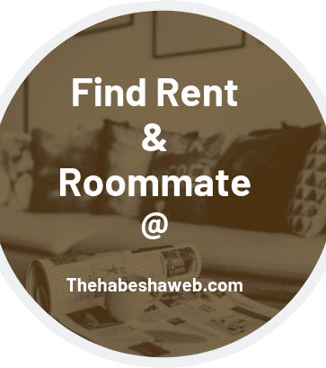 Ethio-Eritrea Rent or roommate
