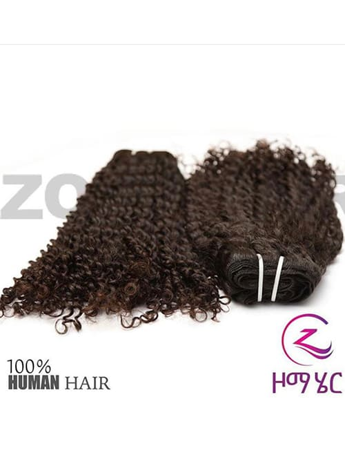 Zoma One Bundle Curly Human Hair