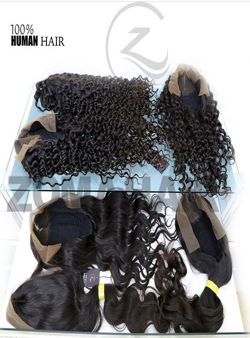 Zoma Lace Front Human Hair