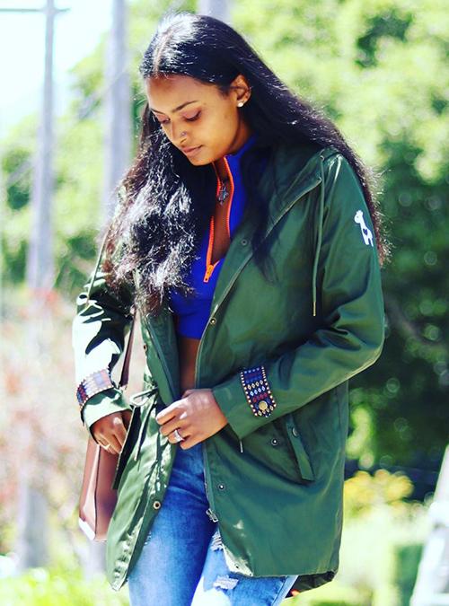 Yemeskel Fishtail Parka Jacket