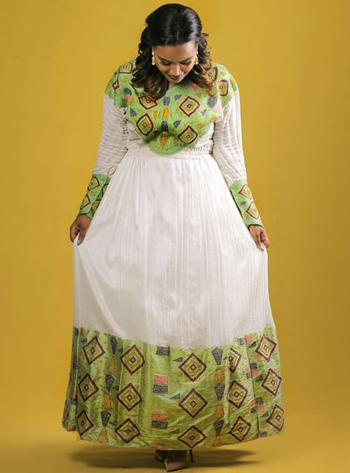 Ethiopian Traditional Wedding Dress