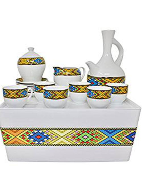 Rekebot with Coffee Cups