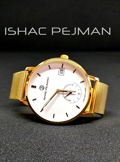 White Gentleman Stainless Steel Watch
