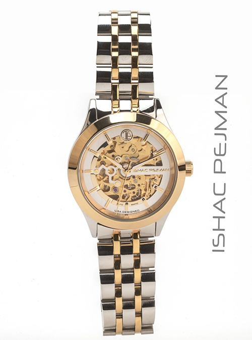 Gold Stainless Steel Quartz Watch