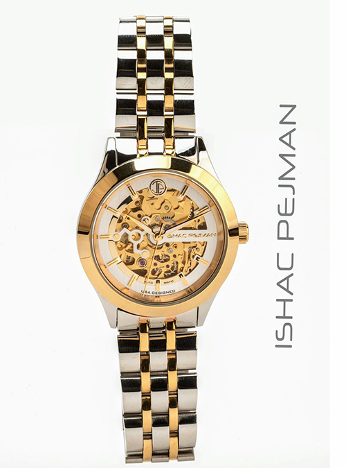 Gold Gentleman Automatic Watch