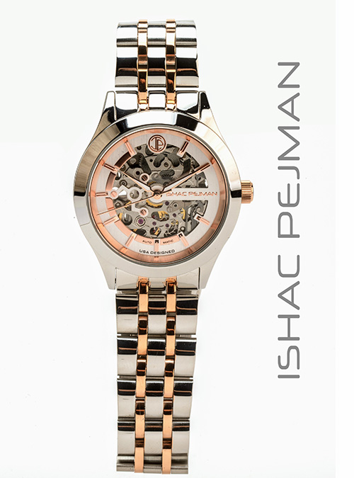 Gold Japan Movement Automatic Watch