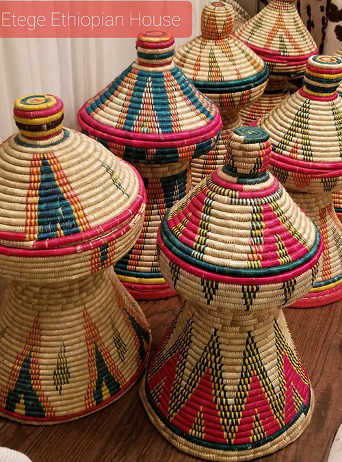 Hand Made Mesobwerk Basket