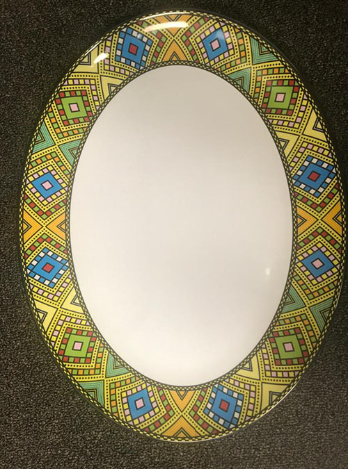 Large Oval Dishes