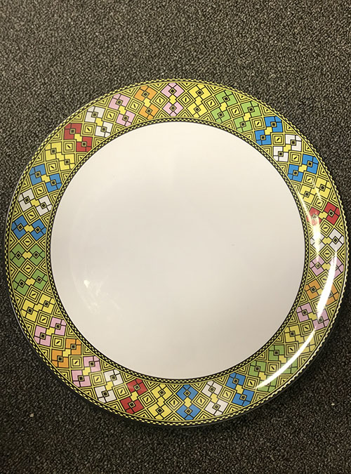 Ethiopian 14 Inch Circle Plates