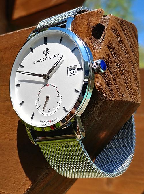 Silver Gentleman Stainless Steel Watch