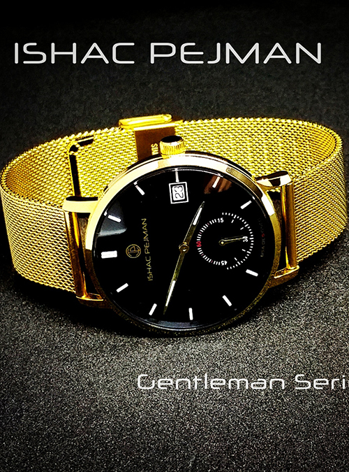 Black Gentleman Stainless Steel Watch