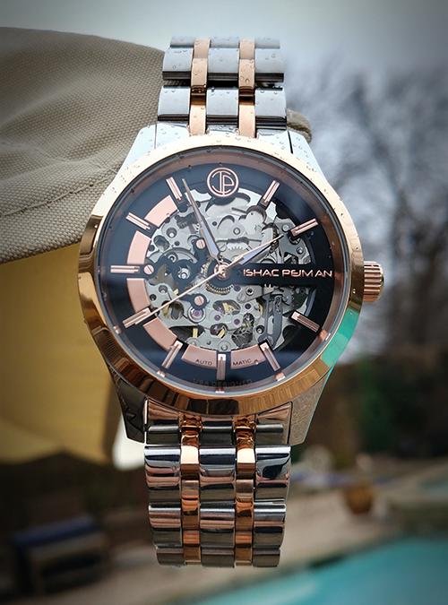 Black Gentleman Automatic Watch