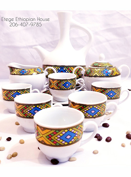 Wub Tilet Design Coffee set