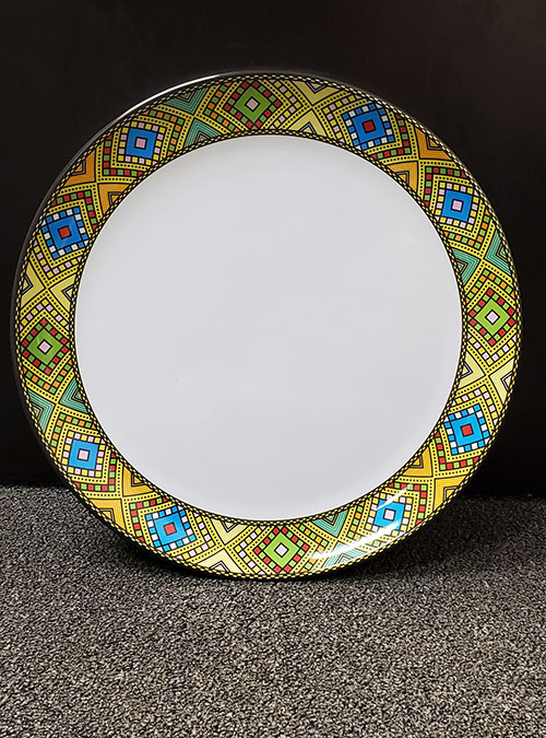 Eritrean Traditional Circle Plates