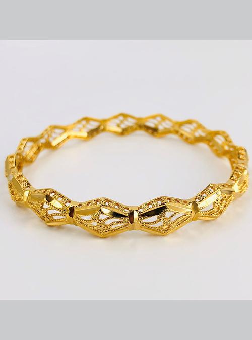 Afar Gold Plated Brass Bracelet