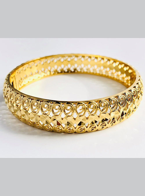 Anseba Gold Plated Brass Bracelet