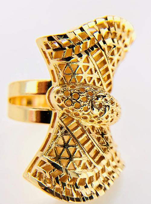 Asmara Gold plated Ring