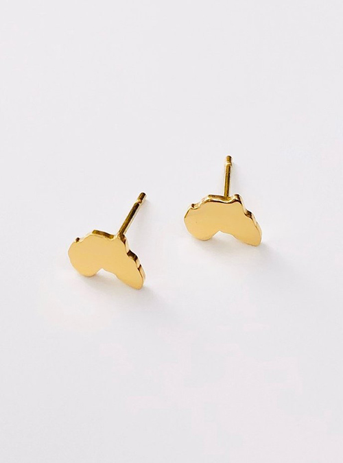 Bond Gold Plated Ear Pin