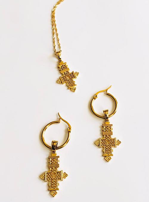 Faith Ring Chain Set