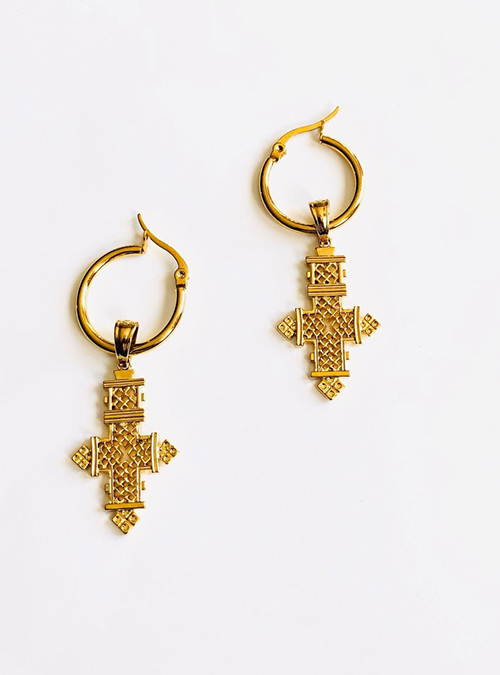 Grace Gold Plated Earrings