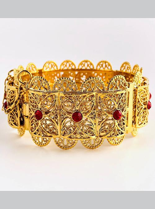Hidareb Red Gold Plated Bracelet