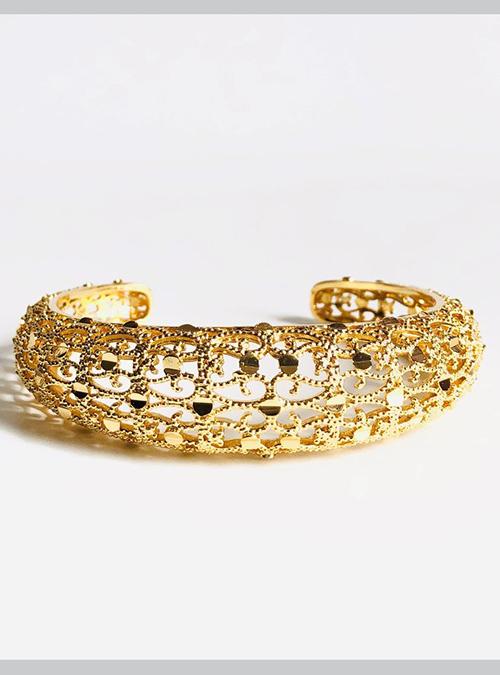 Kunama Gold Plated Cuff