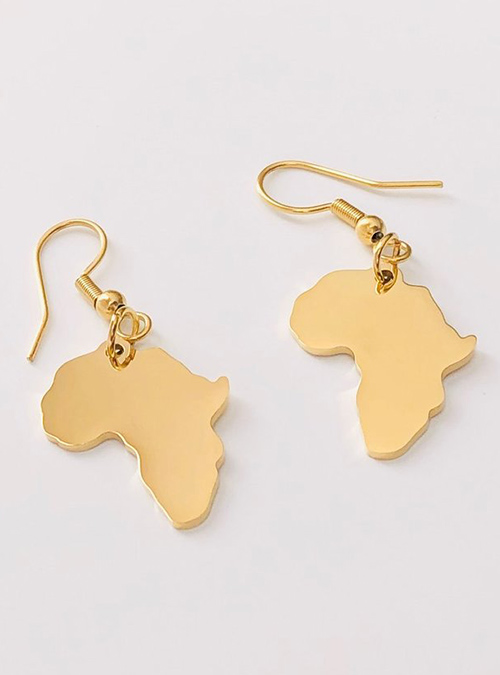 Lineage Gold Plated Earrings