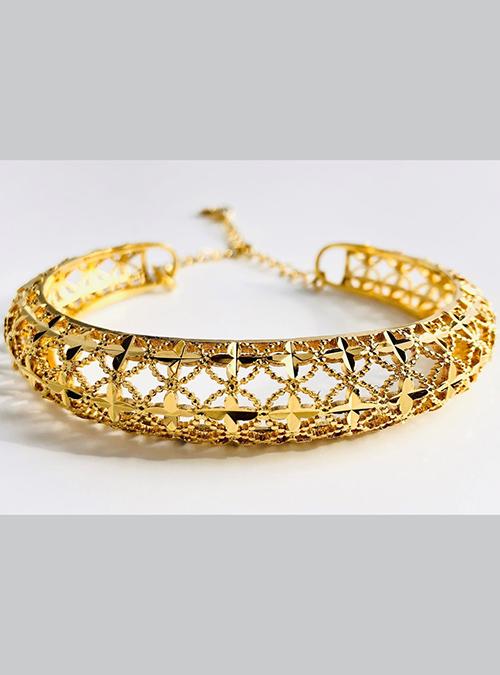 Massawa Gold Plated Cuff