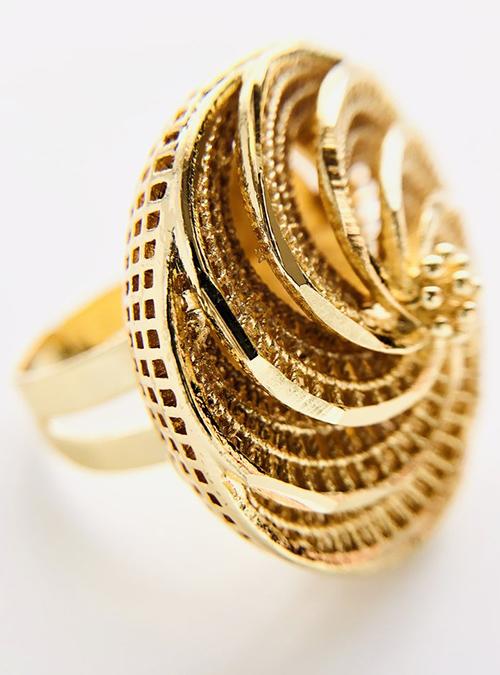 Mensura Gold plated Ring