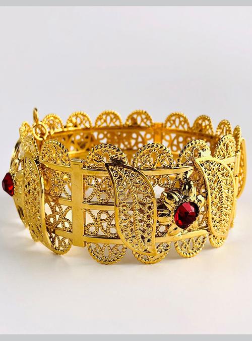 Nara Gold Plated Bangles