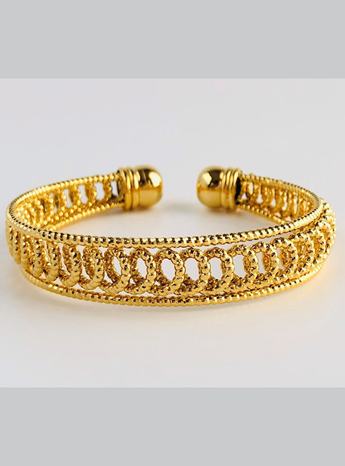 Rashaida Gold Plated Bracelet