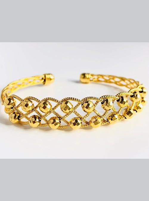Tigre Gold Plated Brass Bracelet