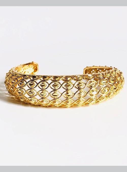 Tigrinya Gold Plated Cuff