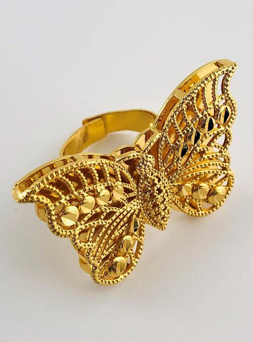 Tsimbilali Gold plated Ring