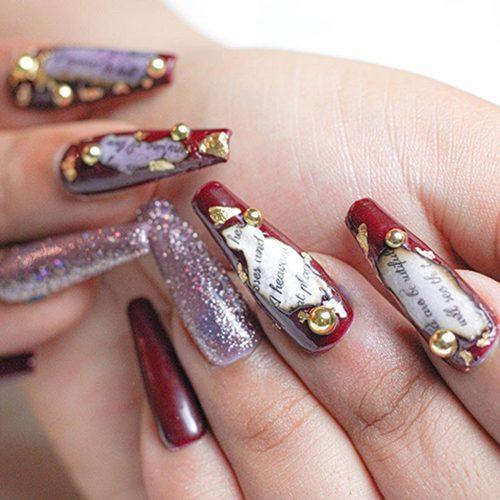 Press on Nails Hidden Treasure