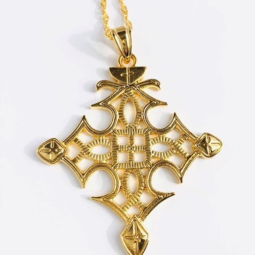 Imnet Gold Plated Brass Pendant