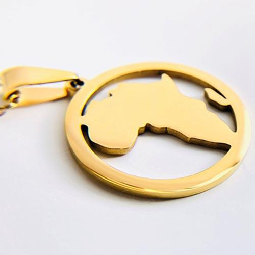 Kuumba Gold Plated Pendant