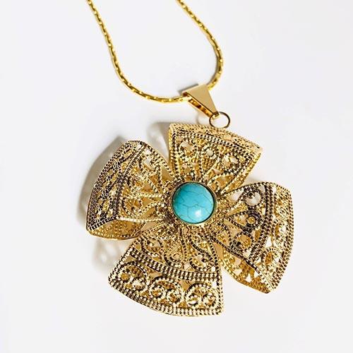 Tinsae Gold Plated Pendant