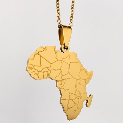 Umoja Gold Plated Pendant