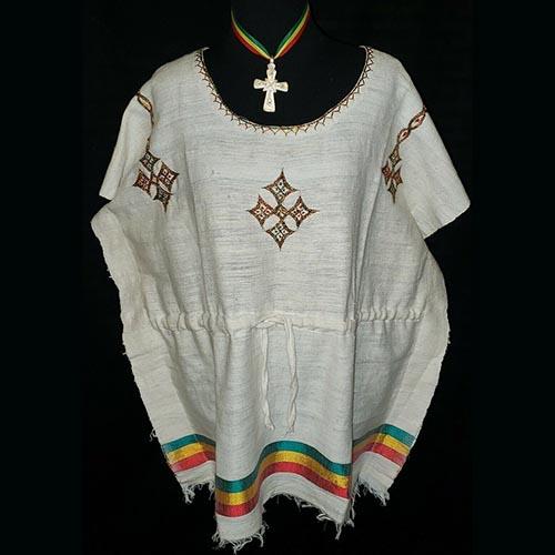 Ethiopian Rasta tunic spun cotton
