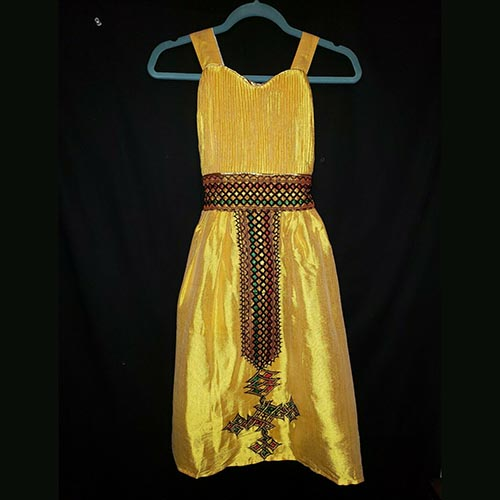 Ethiopian Traditional Girls Dress