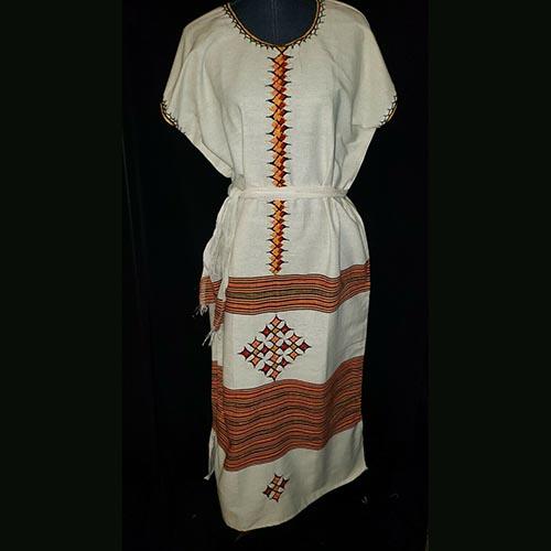 Ethiopian Hand made coffee dress
