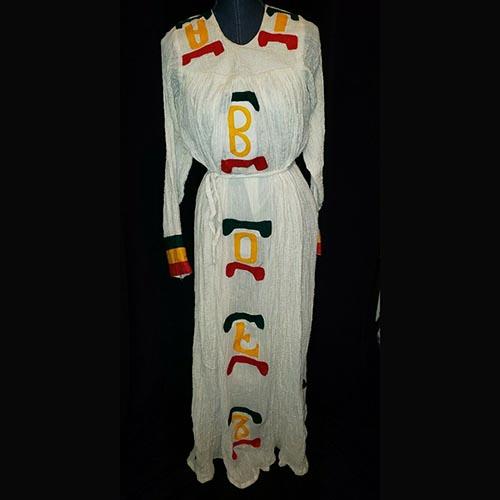 Ethiopian 100% Cotton Dress
