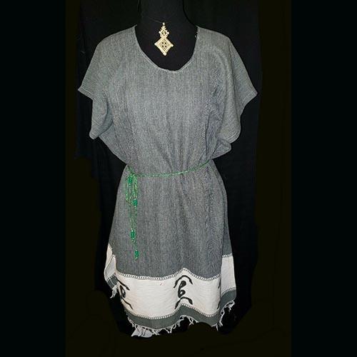 Ethiopian short cotton dress