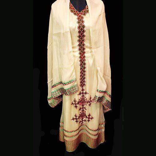 Eritrean traditional cotton dress