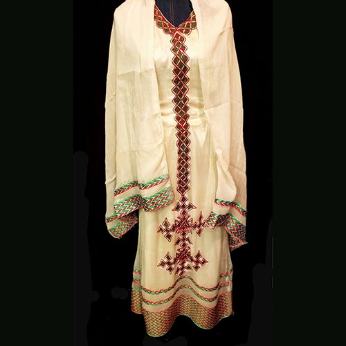 Eritrean traditional cotton dress