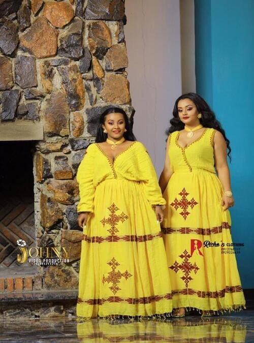 Wedding Ethiopian Traditional Dress