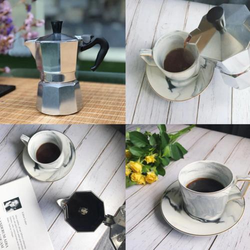 Coffee Maker Aluminum Moka Pot