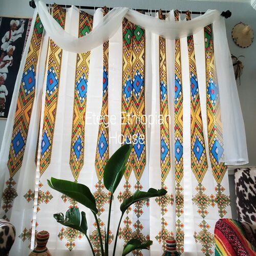 TIBEBE Design Window Curtain set